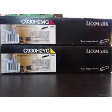 Картридж Lexmark C930H2MG/YG/CG